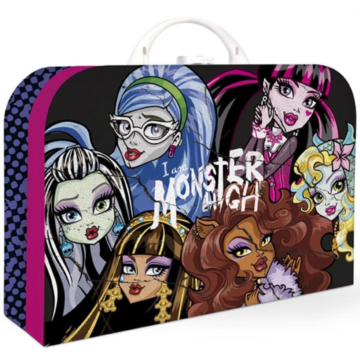 Karton P+P Kufr Monster High velký