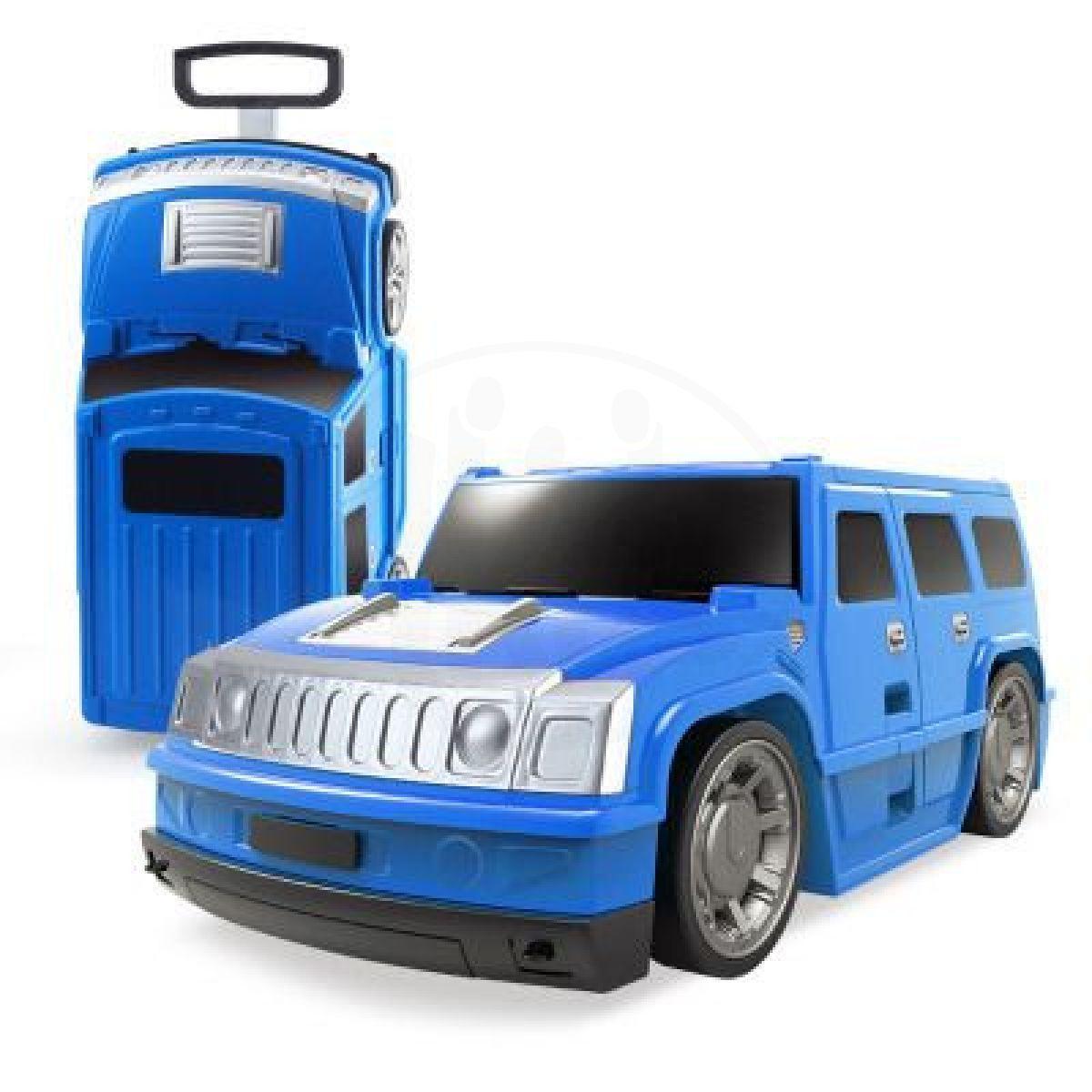 Kufr auto Hummer modrý