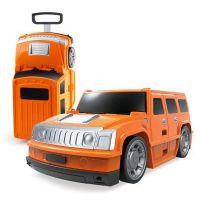 Alltoys Kufr auto Hummer oranžový