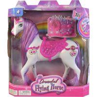 Made Kůň na baterie se světlem a zvukem příslušenství 23 cm