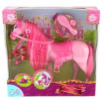 Kůň pro princeznu Steffi Love růžový