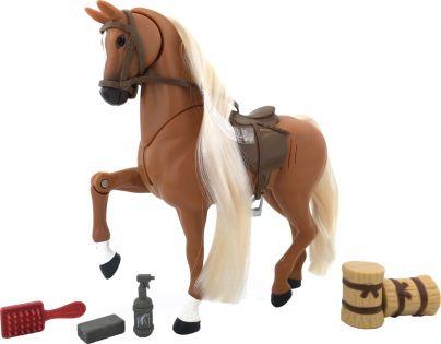 Lanard Kůň set 18 cm - Hnědý