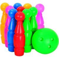 Toy Kuželky maxi 10 ks Bowling