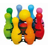 Toy Kuželky plastové malé v košíku