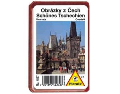 Piatnik 4527 - Kvarteto - Obrázky z Čech