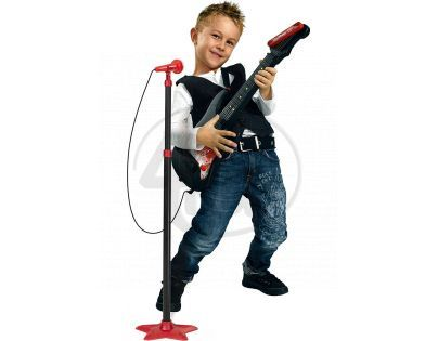 Simba Kytara se stojanovým mikrofonem