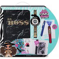 L.O.L. OMG Fashion Journal Da Boss Elektronický deník hesel s hodinkami