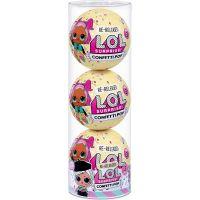 L.O.L. Surprise 3 panenky Confetti Beatnik Baby
