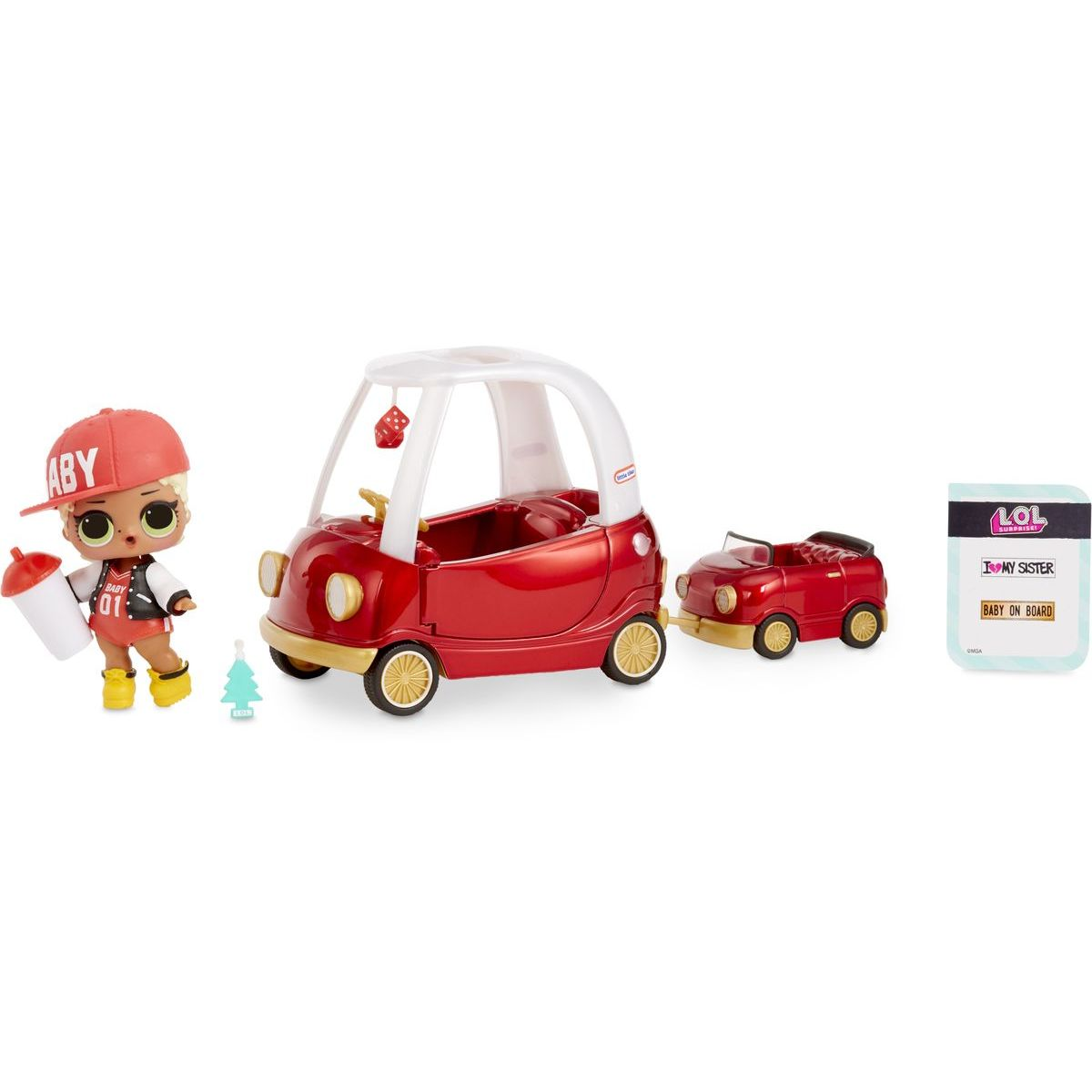 L.O.L. Surprise Cozy Coupe  M.C. Swag