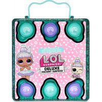 L.O.L. Surprise Deluxe Present Dárkové překvapení Zelené 4
