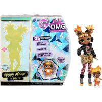 L.O.L. Surprise! OMG Winter Velká ségra Chill Missy Meow Fashion Doll Baby Cat