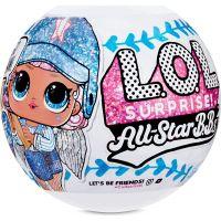 L.O.L. Surprise! Sportovní hvězdy Série 1 Baseball modrý tým