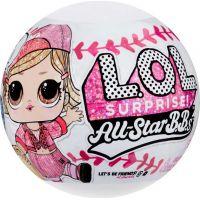 L.O.L. Surprise! Sportovní hvězdy Série 1 Baseball růžový tým