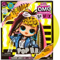 LOL Surprise Veľká ségra OMG Remix Doll Pop BB