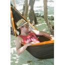 La Siesta Cestovní houpací síť Colibri Double Orange 5
