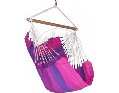 La Siesta Houpací sedačka Orquidea Single Purple