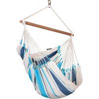 La Siesta Houpací sedačka Caribeňa Aqua blue