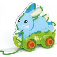 Lacing Game lacing animals & wheels Šněrovací zvířátka s kolečky 3