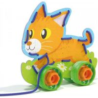 Lacing Game lacing animals & wheels Šněrovací zvířátka s kolečky 4