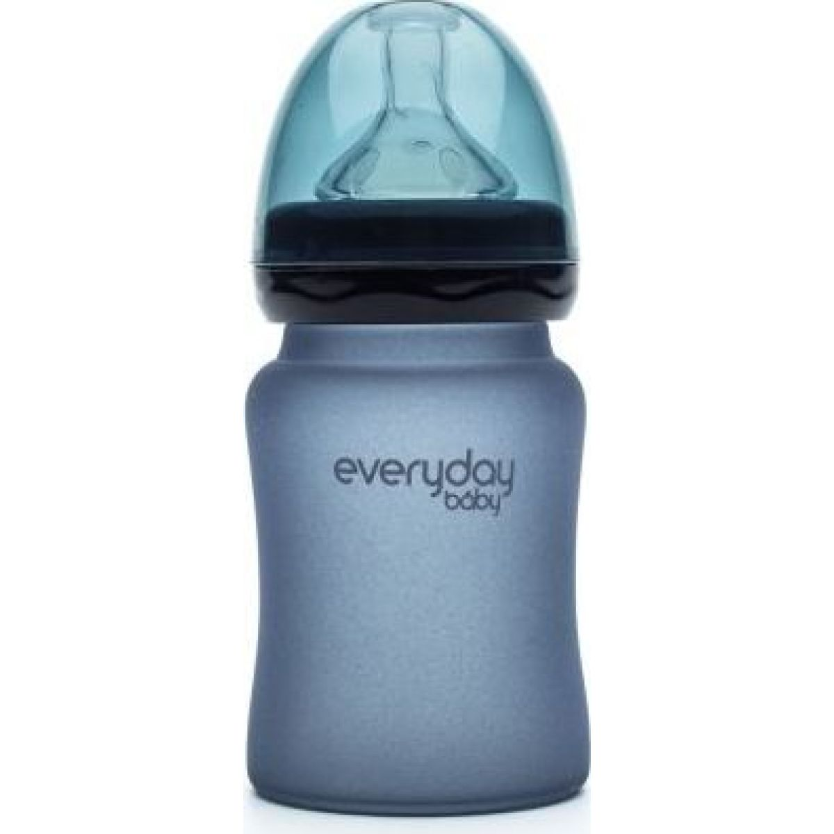 Everyday Baby Láhev sklo senzor 150 ml blueberry