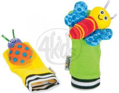 Lamaze 27091 - Chrastící ponožky