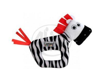 Lamaze 27077 - B&W Chrastítko zebra