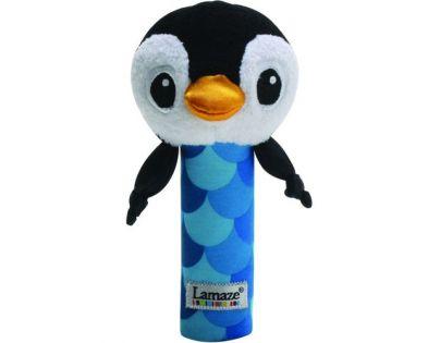 Lamaze 27088 - B&W Pískátko tučňák