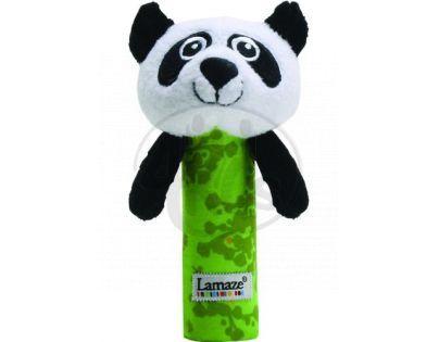 Lamaze 27087 - B&W Pískátko panda