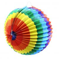 Rappa Lampion Duhová koule 25 cm