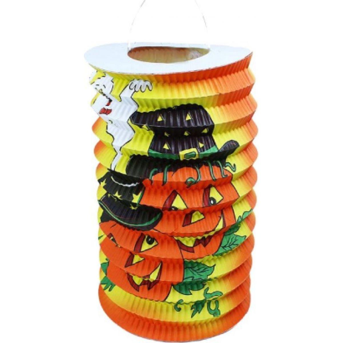 Rappa Lampion Halloween 15 cm s čajovou svíčkou RAPPA