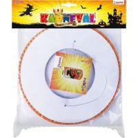 Rappa Lampion Halloween 15 cm s čajovou svíčkou 2