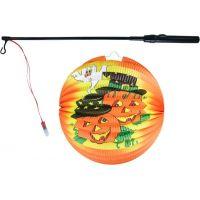 Rappa Lampion Halloween koule Veselé dýně se svítící hůlkou