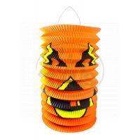 Rappa Lampion Halloween se svítící hůlkou 40cm 2