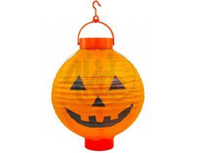 Lampion Halloween Svítící dýně