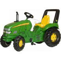 Rolly Toys 035632 - Šlapací traktor X-Trac John Deere - zelený