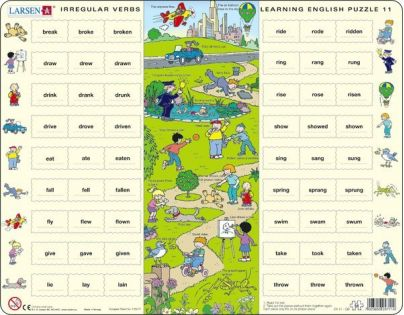 Larsen Puzzle Anglická nepravidelná slovesa