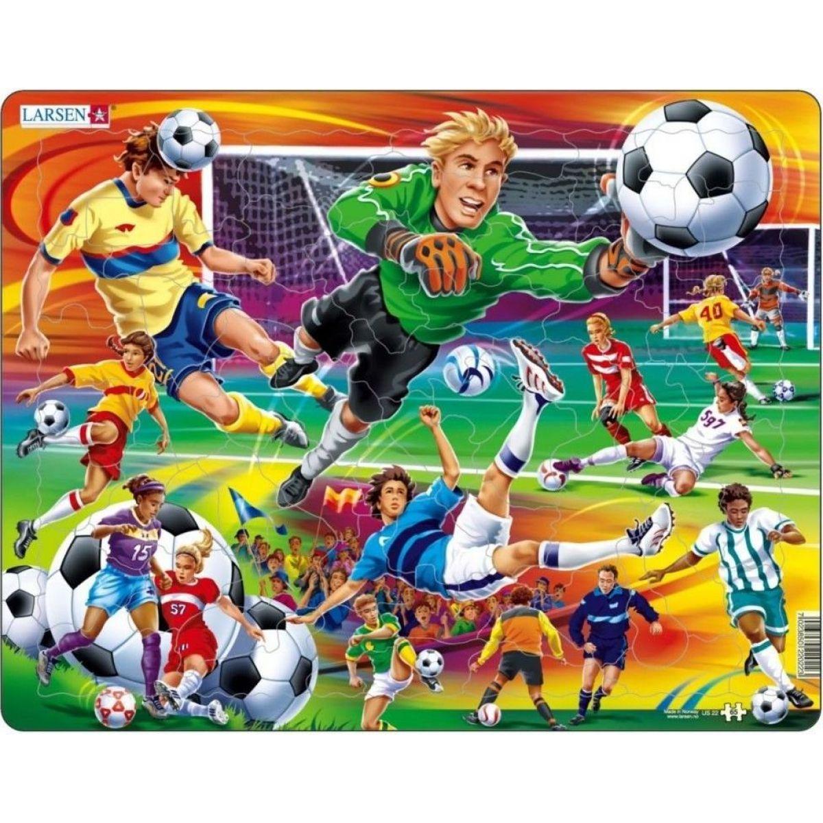 Larsen Puzzle Fotbal - soccer