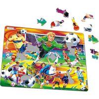 Larsen Puzzle Fotbal - soccer 2