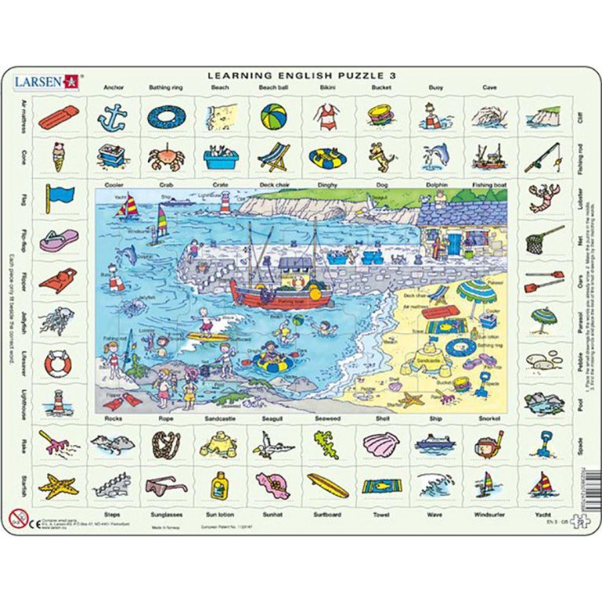 Larsen Puzzle Hodina angličtiny 3