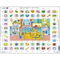 Larsen Výukové puzzle Hodina angličtiny I.
