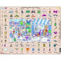 Larsen 24702 - Výukové puzzle Hodina angličtiny II.
