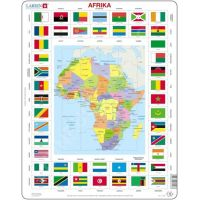 Larsen Puzzle Mapa Afriky 23103