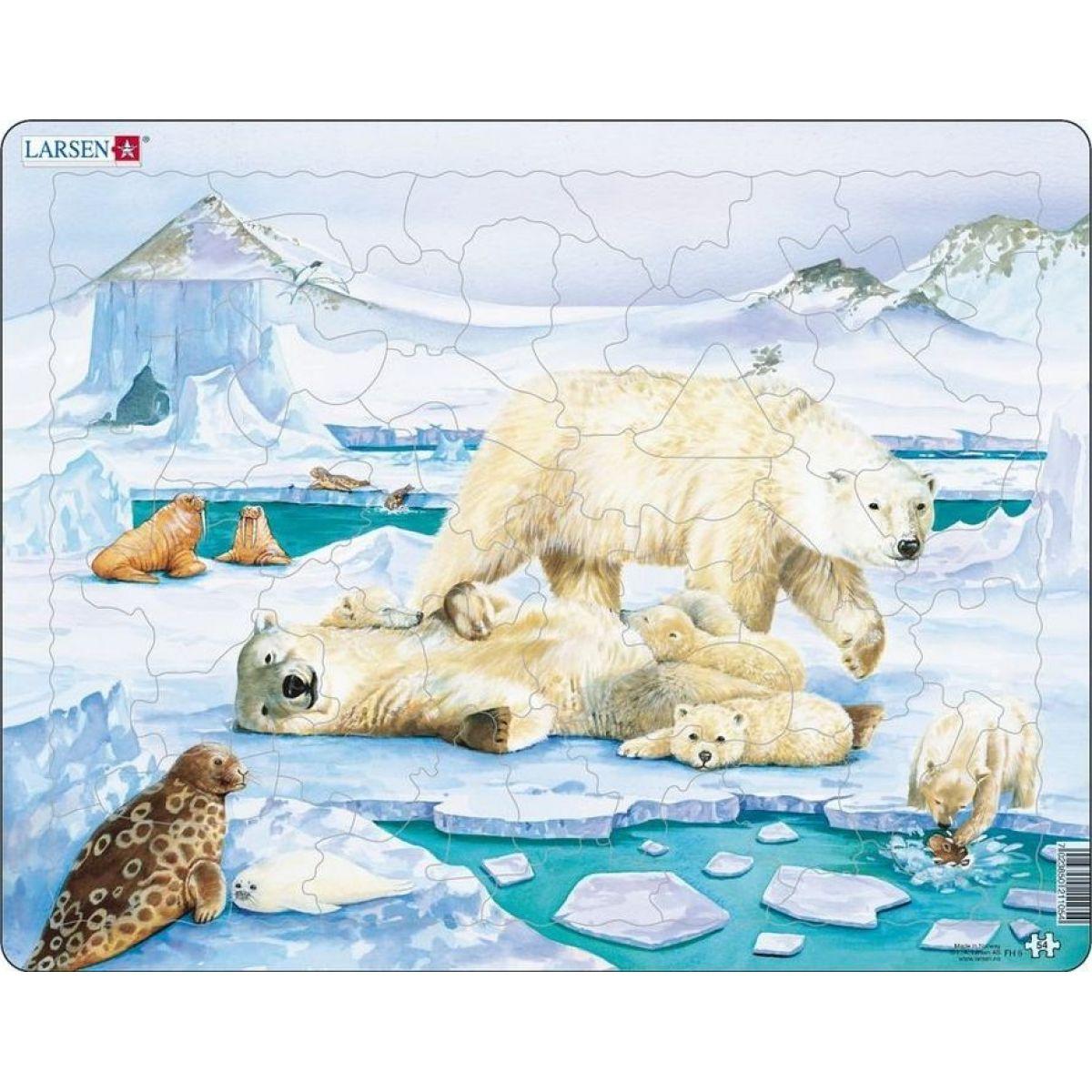 Larsen Puzzle Medvědí rodinka