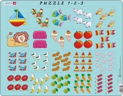 Larsen Puzzle Obrázkové počítání pro nejmenší