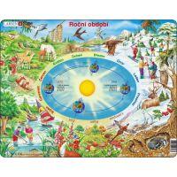 Larsen Výukové puzzle Roční období