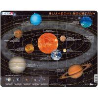 Larsen Výukové puzzle Sluneční soustava