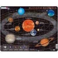 Larsen 223614 - Výukové puzzle Sluneční soustava