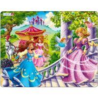 Larsen Puzzle Tři princezny a dvě létající víly