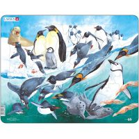 Larsen Puzzle Tučňáci