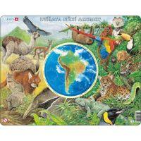 Larsen Puzzle Zvířata Jižní Ameriky